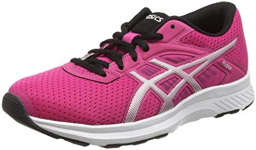 Asics Fuzor, Scarpe Running Donna, Rosa (Sport Pink/Silver/Black), 38 EU