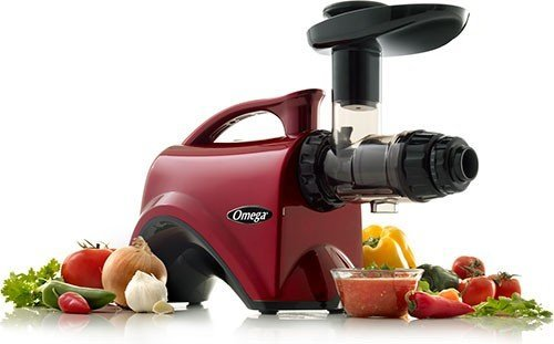 Omega NC800 HDR 5th Generation Nutrition Center Juicer, Red by Omega (Omega Juicers Nc800 Hdr 5th compare prices)