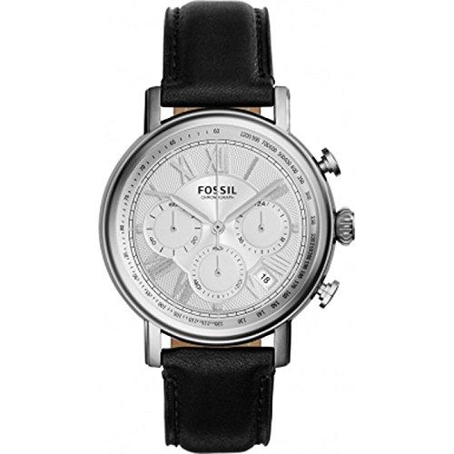 Fossil FS5102 Mens Buchanan Black Chronograph Watch
