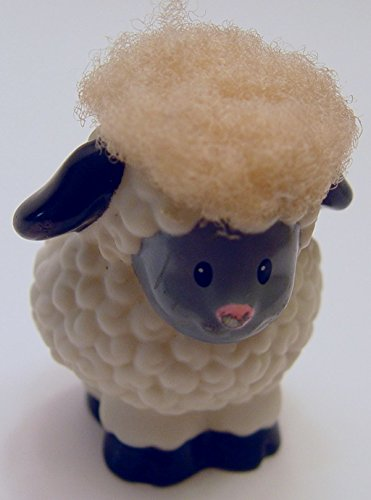 Touch-n-feel Little People Fuzzy Sheep Loose Out of Package - 1