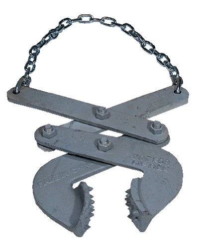 Vestil PAL-LP Steel Low Profile Double Scissor Pallet Puller, 5000 lbs Capacity, 3-1/4