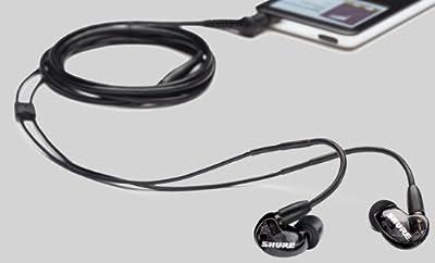 【国内正規品】 SHURE 高遮音性イヤホン ブラック SE215-K-J