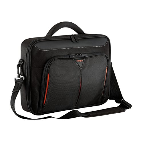 Targus CN415EU Classic+ Clamshell Laptop Bag   Case fits 15.6 inch Laptops, Black