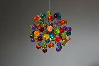 Childrens Room Lighting Multicolor Marble Lamp Ceiling