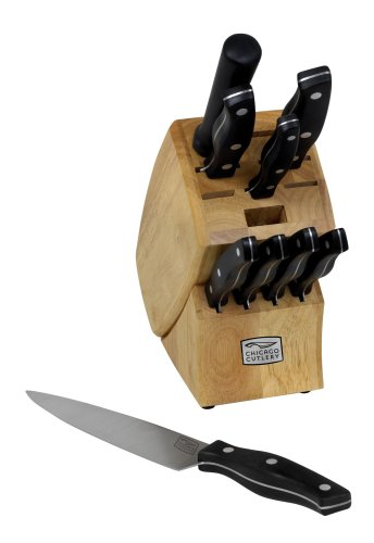 Chicago Cutlery Metropolitan 10-Piece Knife Set with Block