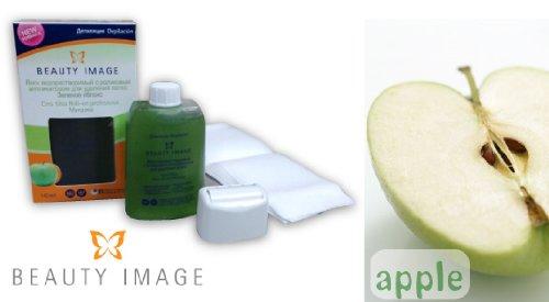 ブラジリアンワックス ワックス脱毛 水性ワックスロールオンタイプ アップル