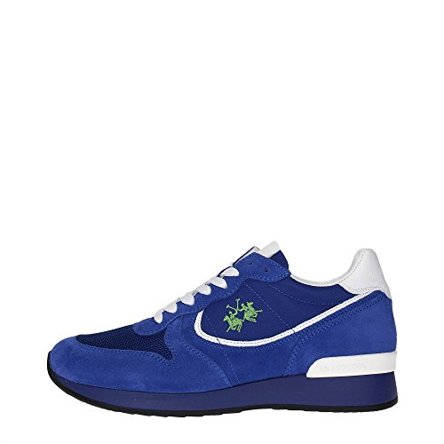 La Martina Shoes L1143283 Sneakers Donna Scamosciato Blue Blue 40