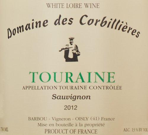 2012 Domaine Des Corbillieres Sauvignon Blanc, Touraine 750 Ml