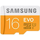 #2: Samsung Evo 16GB Class 10 micro SDHC Card (MB-MP16D/IN)