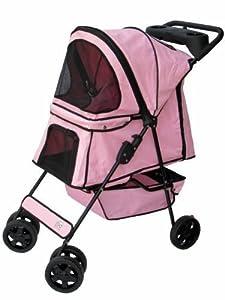 Go Pet Club Pet Stroller Pink