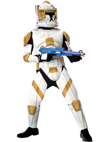 Child Deluxe Clone Trooper Commander Cody Costume