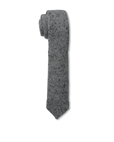 Gitman Vintage Men's Solid Tweed Tie, Grey