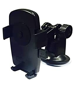 One Touch Car Mount Mobile Holder Black For Mahindra Verito