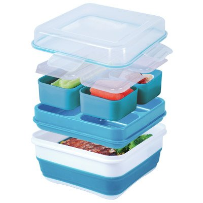 Cool Gear Ez-freeze Collapsible Bento Box (Assorted Colors) (Bento Box With Ice Pack compare prices)