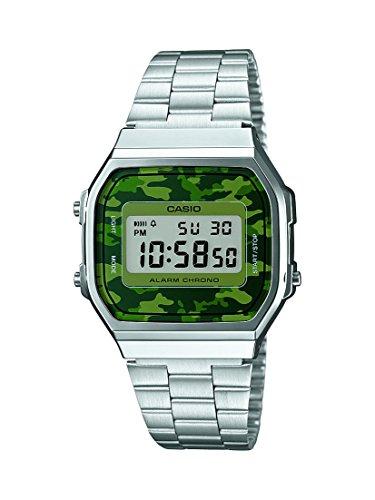 casio-a168wec-3-reloj-de-cuarzo-para-hombre-color-verde-y-plateado