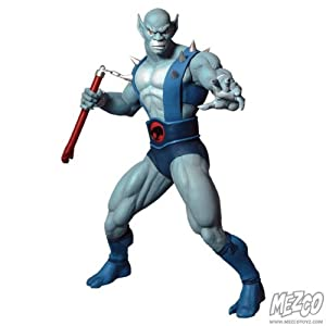 Thunder Cats Action Figures on Com  Mezco Toyz Thundercats Panthro 14  Action Figure  Toys   Games