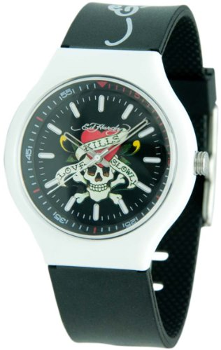 Ed Hardy Men's NE-BK Neo Black Watch