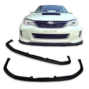 Subaru Impreza WRX GP Sti CS CS1 Style Urethane Front Bumper Lip Chin