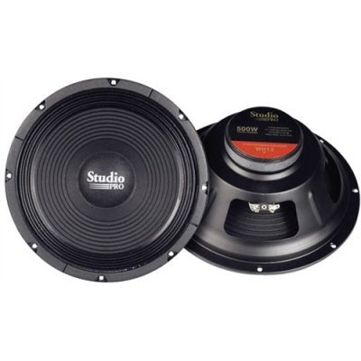 "Pyramid 12"" 500 Watt High Power Paper Cone 8 Ohm Subwoofer"