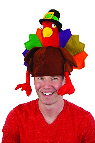 Jacobson Hat Company Men's Turkey Hat, Multi, Adult
