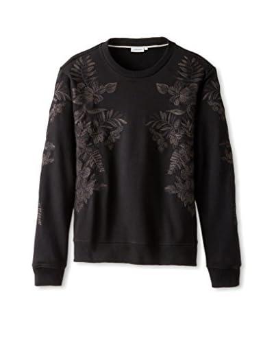 J.Lindeberg Men's Abur Floral Compact Sweatshirt