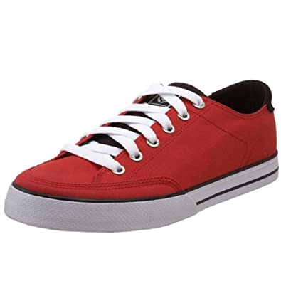 C1RCA Men's 50 Classic Skateboarding Shoe,Red,5 M US