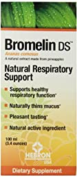 Bromelin DS Natural Respiratory Support Dietary Supplement