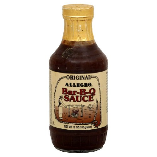 Allegro, Sauce Bbq Orgnl, 18 OZ (Pack of 6)