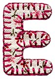 Alphabet Letters iron on/applique motif Girl Letter E