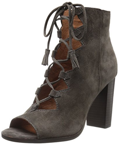 FRYE Women's Gabby Ghillie Suede Platform Sandal