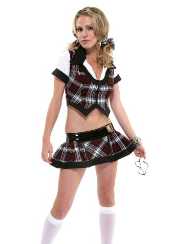 Teach Me Schoolgirl Sexy Holiday Party Costume