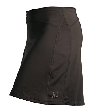 Skirt Sports Women's Happy Girl Skirt,Black,X-Small