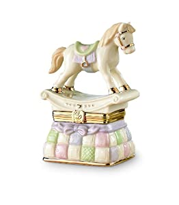 Lenox Rocking Horse Treasure Box