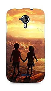 Amez designer printed 3d premium high quality back case cover for Micromax Canvas Magnus A117 (Beautiful kids)