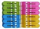 Tara Vision Plastic Cloth Clips (12pcs)   Multicolor