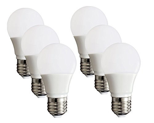 6-pack of Kunshi G50 E26/e27 Led Bulb 5.5 Watt