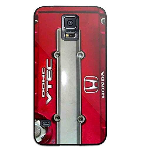 JDM Honda Dohc Vtech Valve Cover Red for Iphone and Samsung Galaxy Case (Samsung Galaxy S5 black) (Honda Vtech Emblem compare prices)