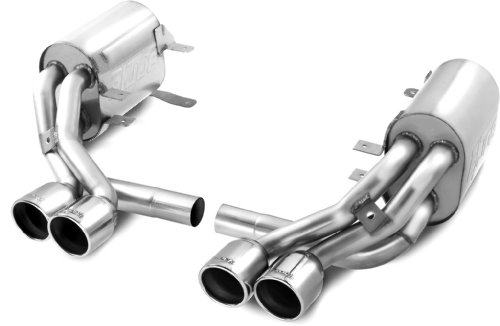 Borla 140272 Cat-Back Exhaust System - POR 997S '05-'08 3.8L 6