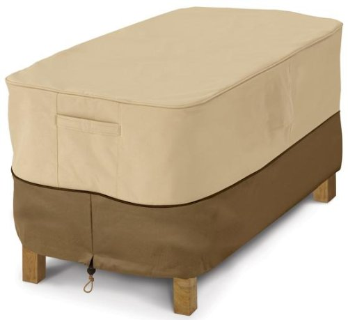 Classic Accessories Veranda Patio Coffee Table Cover Durable And Water Resistant Outdoor