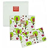 Sugarbooger Set of 3 Good Lunch Snack Sack, Hoot!