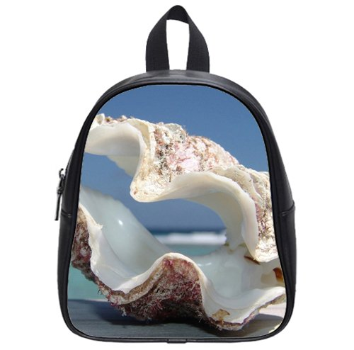 home decor Shell is an art Custom Kids School Backpack Bag(Small) cute