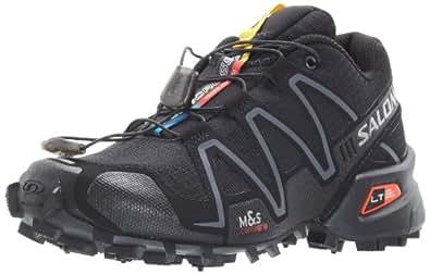 Salomon Speedcross 3 Womens Trail Running Shoes 5.5 B(M) US Black/Grey