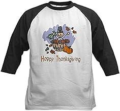 CafePress Happy Thanksgiving Kids Baseball Jersey