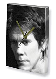 KEVIN BACON - Canvas Clock (LARGE A3 - Signed by the Artist) #js002