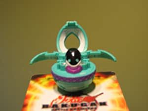 Bakugan Green Ventus Preyas Diablo Angelo 2 Sided 650g 450g (Loose)