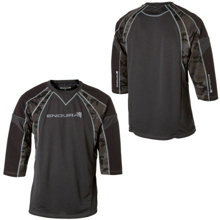 Buy Low Price Endura MT500 Burner Cycling Jersey – Long-Sleeve – Men's (B001JL79QC)