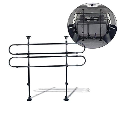 zento-deals-black-vehicle-pet-barrier-fence-adjustable-27-to-45