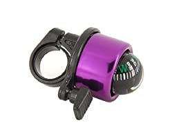 Bicycle Bell Mini Compass English (Purple) By molona ( by molona ) good product