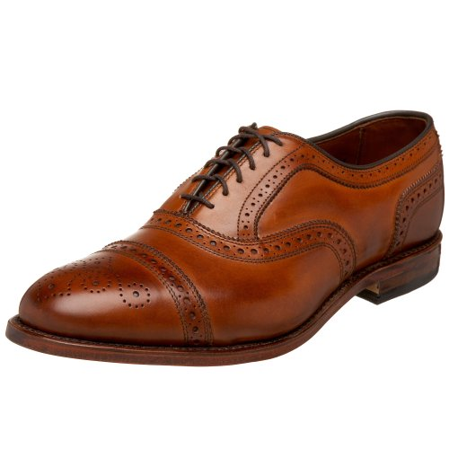 Allen Edmonds Men's Strand Cap Toe With Perfing,Walnut,8.5 D US