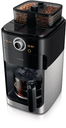 Philips-HD776200-Cafetire-Grind-Brew-moulin--grain-double-bac--grains-Timer-slecteur-dintensit-caf-en-grains-ou-moulu